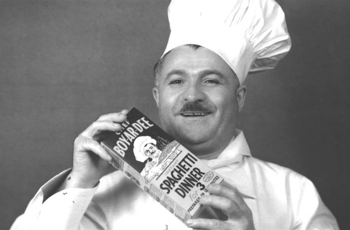 Ettore Boiardi is the real Chef Boyardee