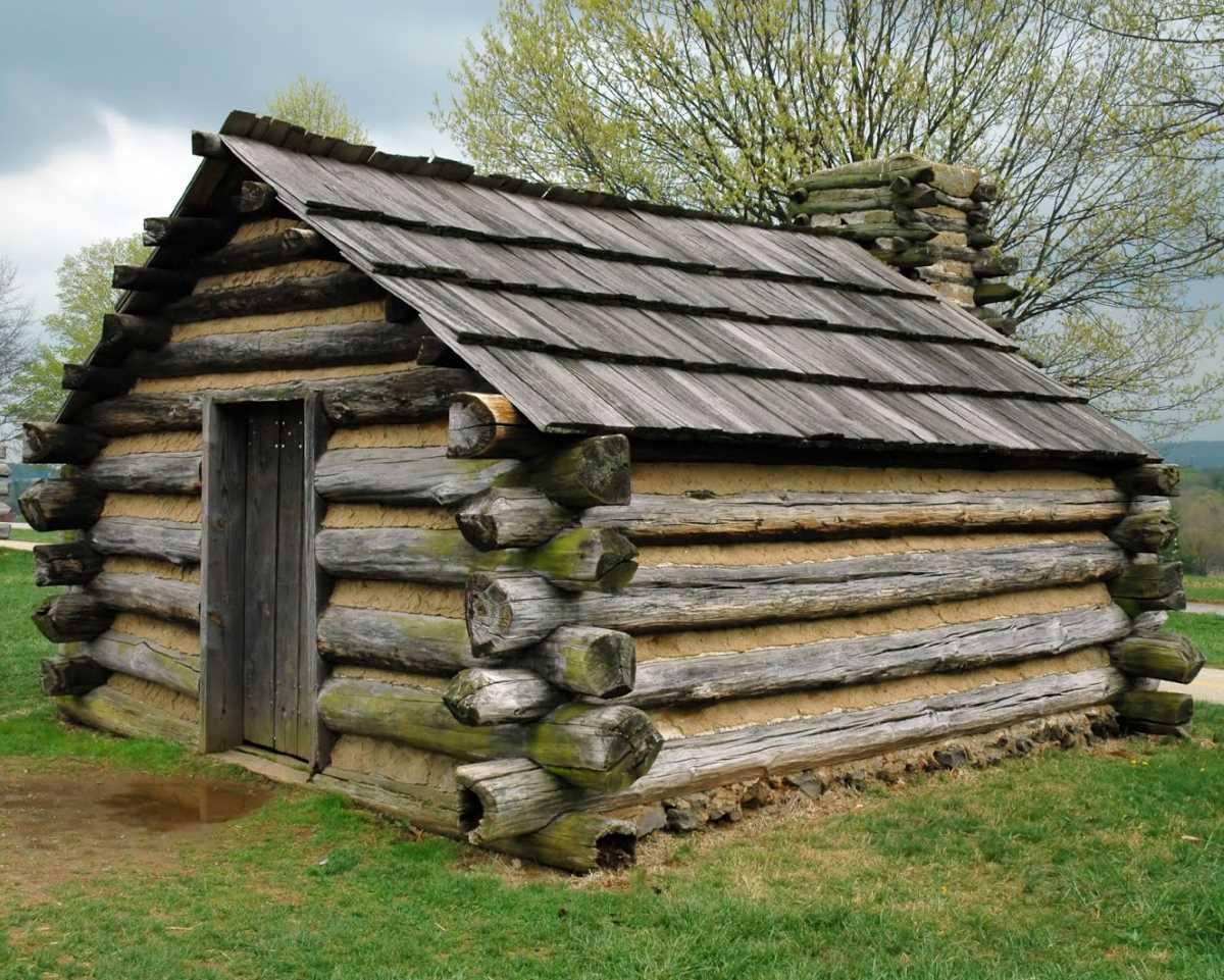 Old European Log Cabin
