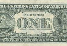 Back of the dollar bill