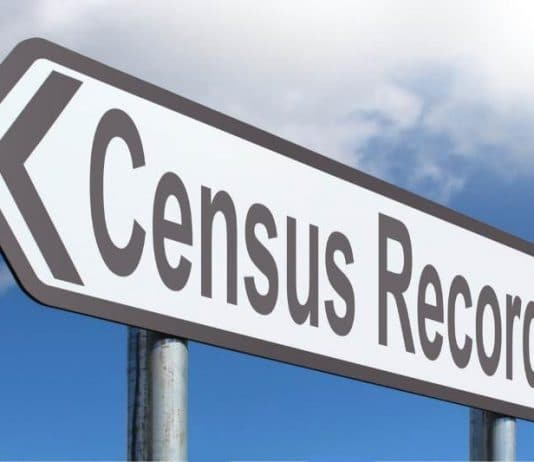 Census sign
