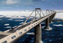 Russia Alaska Bridge