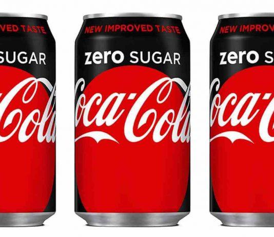 Coke Zero Sugar cans