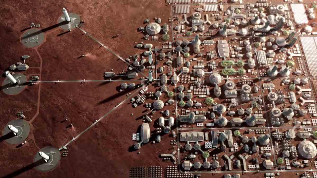Elon Musk - Mars Colony