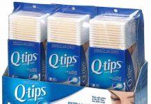 Q-tips 3 pack