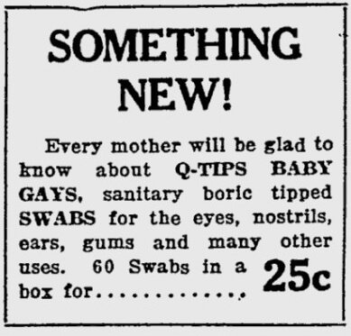baby gays advertisement