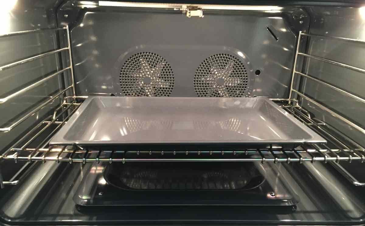 Convection oven fans
