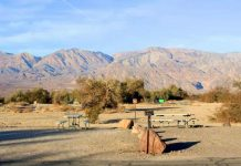 Furnace Creek in Death Valley