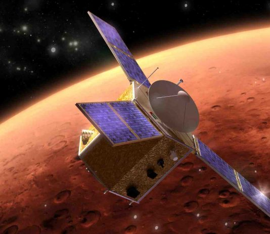 Mars Internet Satellite
