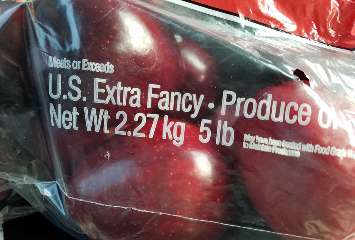 extra fancy apples
