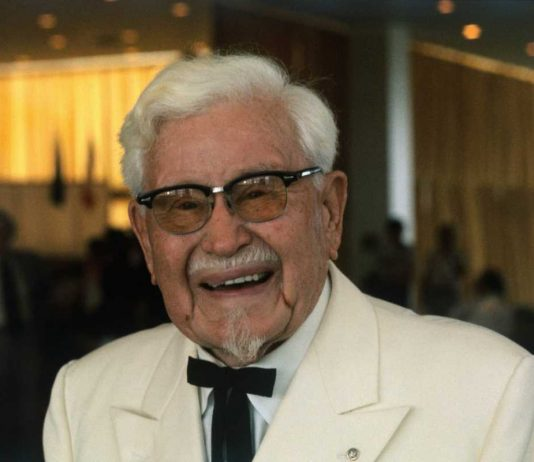 Harland Colonel Sanders