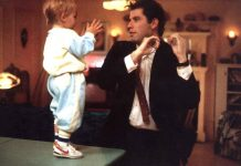 Baby actor with John Travolta