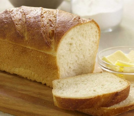 Homemade Loaf of White Bread