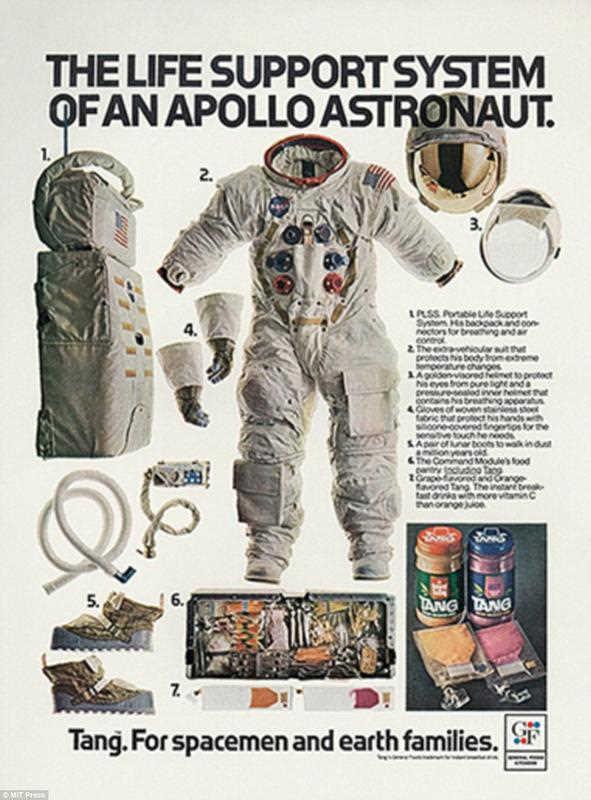 Tang astronaut advertisement