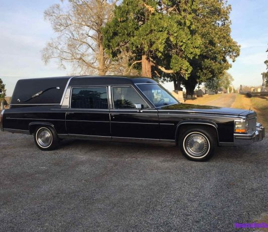 1989 Cadillac based Funeral Hearse