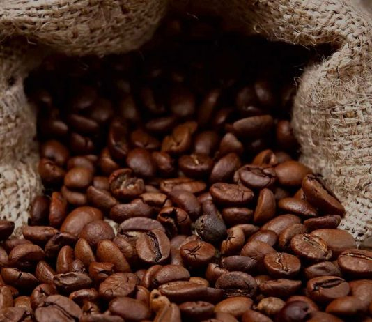 decaffeinated coffee beans